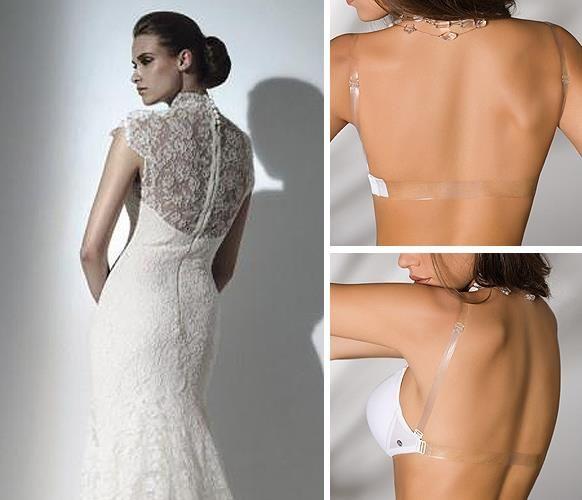 Корректирующее белье под свадебным платьем