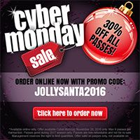 #OCCoupons - Cyber Monday - 30 Percent Off All Passes at Jolly Roger Amusement Parks...  #oceancitycool