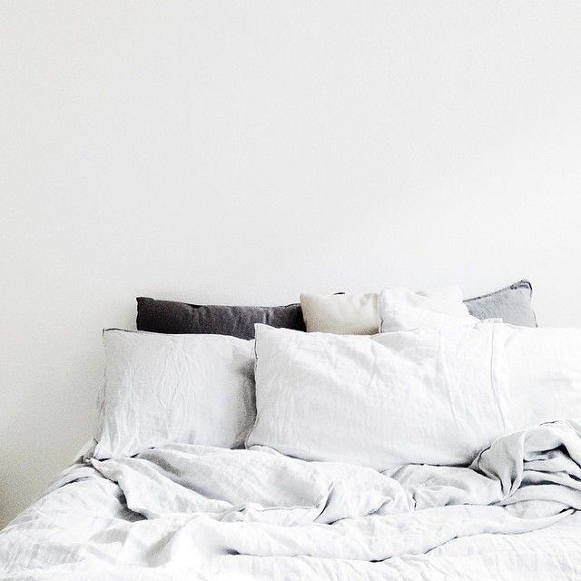 bedroom, linen, light