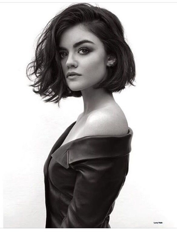 Hairstyles Short Hair 80 cute short hairstyles haircuts how to style short hair Lucy Hale Short Hair Instagram Google Search