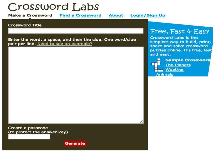 Modular Classroom Crossword : Best images about facs classroom ideas on pinterest