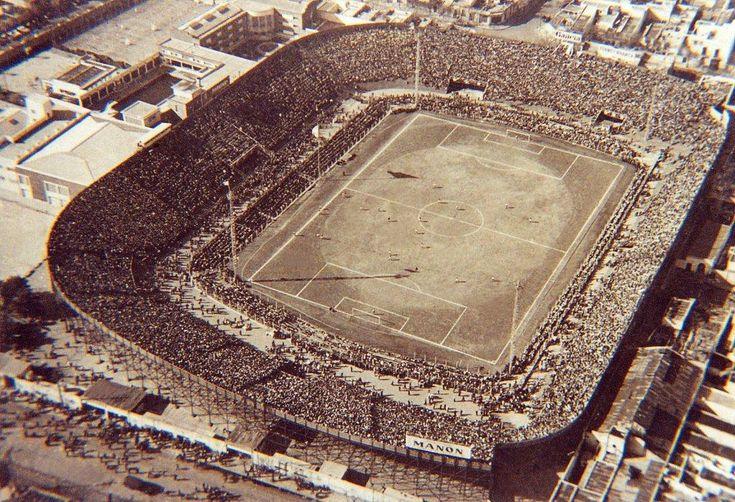 El Gasómetro (1916-1983), antiguo estadio del San Lorenzo de Almagro