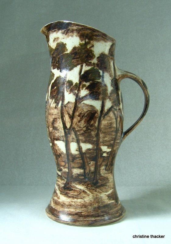 white earthenware, 1100deg.