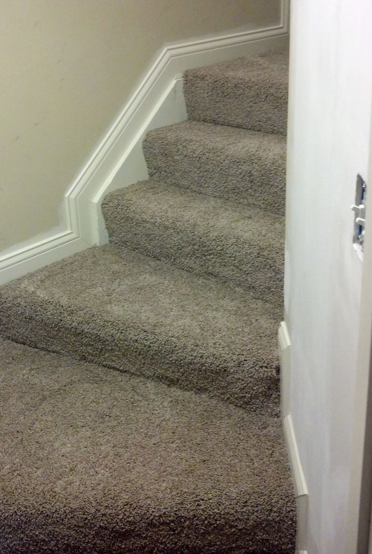 beautiful steps job with mohawk carpet installed by home