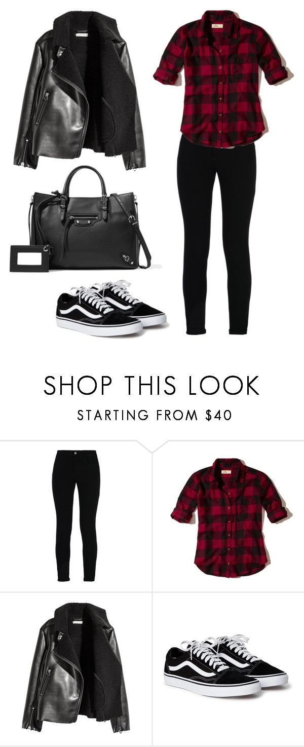#OOTD38 by salbiylaazzara-fashion on Polyvore featuring Hollister Co., H&M, STELLA McCARTNEY and Balenciaga