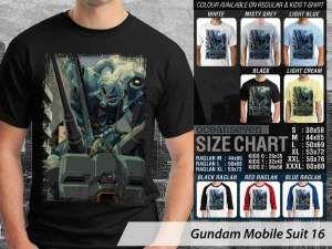 Kaos Gundam Robot 79, Kaos Anime Japan Gundam Suit, Kaos Gundam Couple