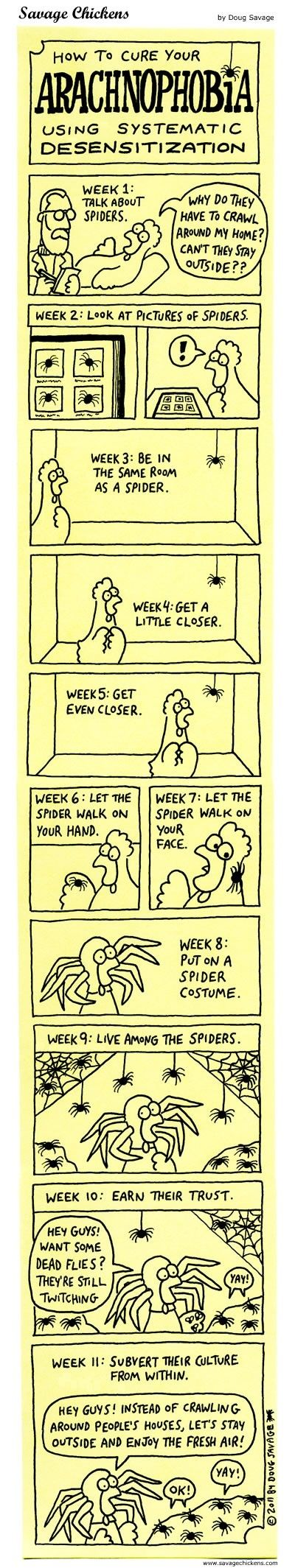 For all my spider-hating friends. :D