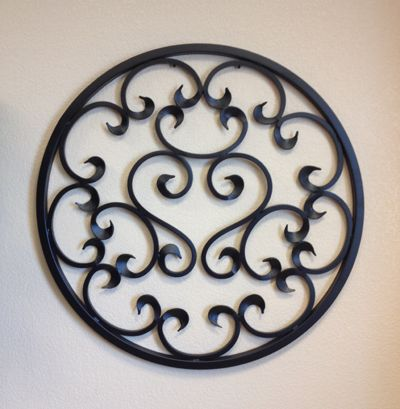 #CONTEST!  Celebrate First Impression Security Doors reaching 350 Likes on Facebook by simply liking us on Facebook!  A lucky Liker will be announced in future newsletter and they win this beautiful piece of Iron Art made at First Impression!