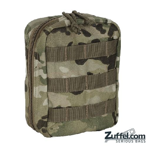 Voodoo Tactical - E.M.T Pouch - Multicam - Check out our collection of MOLLE Gear, MOLLE Pouches, Velcro Pouches, Tactical Pouches, MOLLE Tactical Gear, Modular Pouches, Modular MOLLE Pouches, Modular MOLLE Velcro Pouches, First Aid Pouches, Medical MOLLE Pouches, Molle Gadget Pouch, EMT Pouch, First Aid MOLLE pouches, M.O.L.L.E Compatible Gear, Airsoft MOLLE Pouches, Hydration Pouches, Munitions Pouches, Rip-away Pouches, Modular Gear, Utility and Dedicated Pouches.