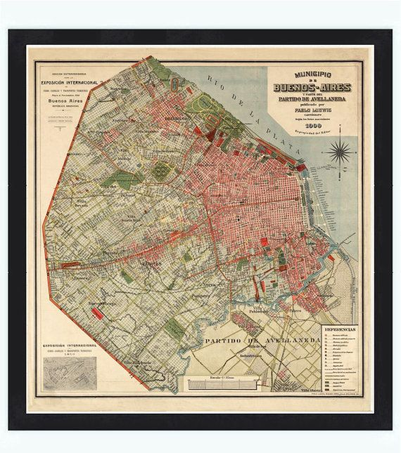 Best Antique Maps Images On Pinterest Antique Maps Old Maps - Argentina map vintage