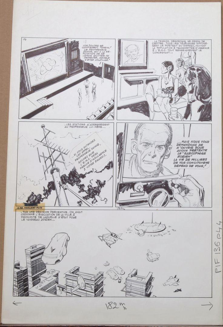 Les Pionniers de L'espérance - Le sarcophage Zorien - histoire complète ! by Raymond Poïvet, Roger Lécureux - Comic Strip