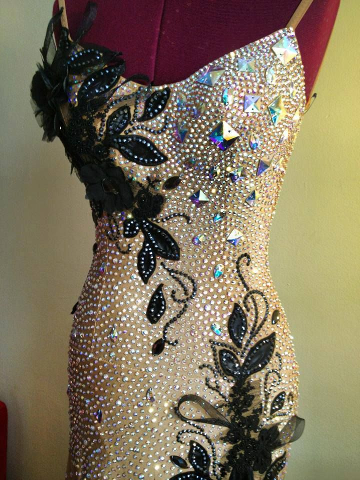 139 best Rhinestone Inspiration images on Pinterest   Couture ...