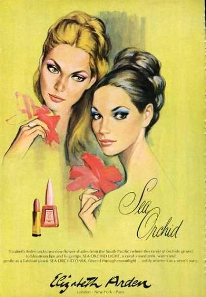 Elizabeth Arden Sea Orchid Fingernail Polish (1966)