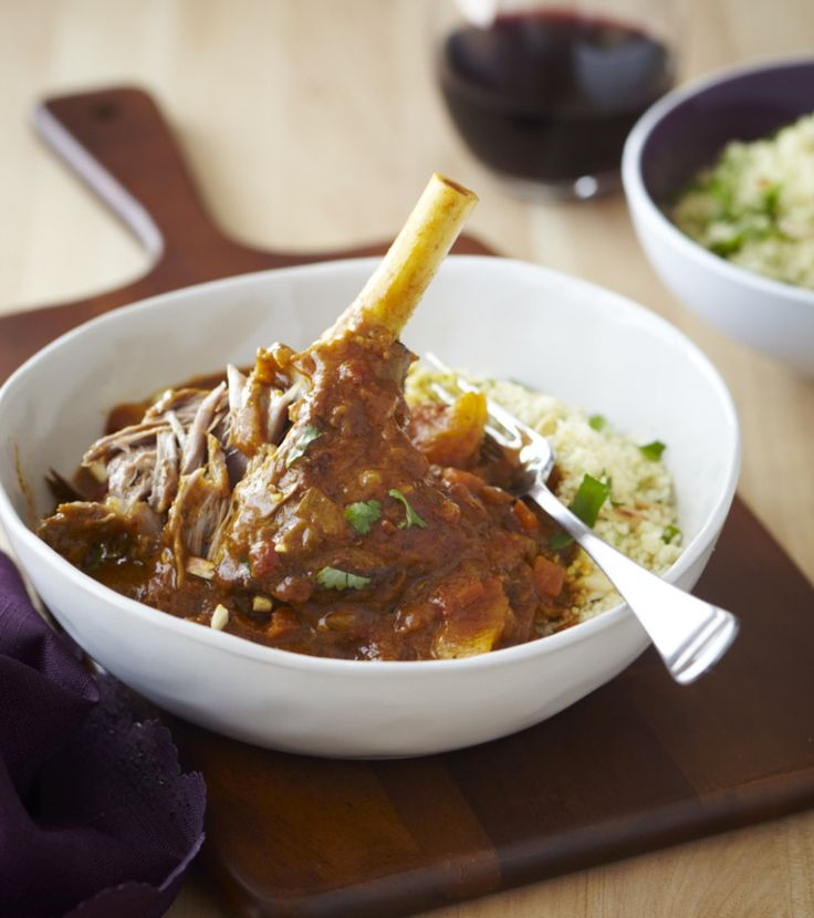 Moroccan lamb shanks from Chelsea Winter - http://chelseawinter.co.nz/moroccan-lamb-shanks/