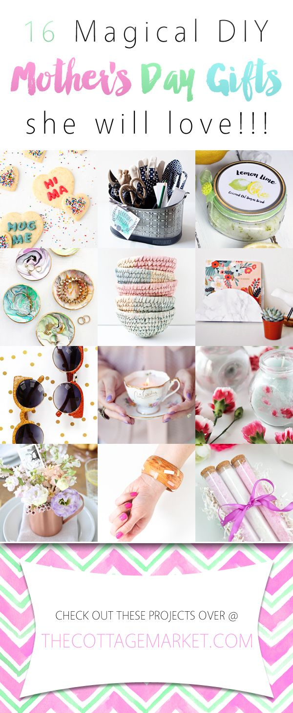 16 Magical DIY Mother's Day Gifts she will love! - The Cottage Market