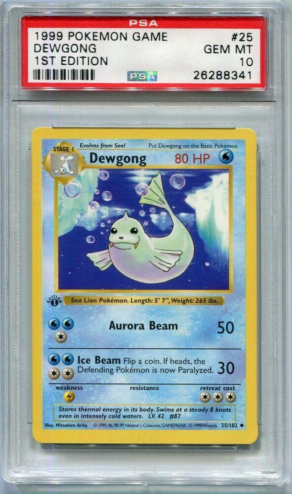 Drowzee 1999 Shadowless 49//102 Near Mint Base Set Common Pokemon Card