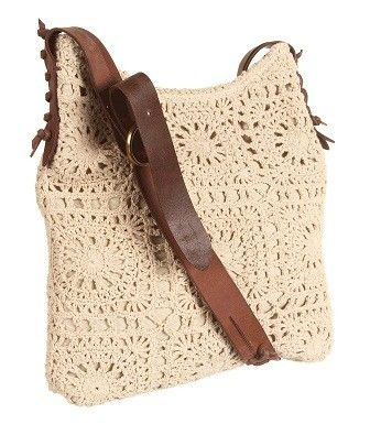 tory burch crochet squares bag Designer Crochet: Tory Burch