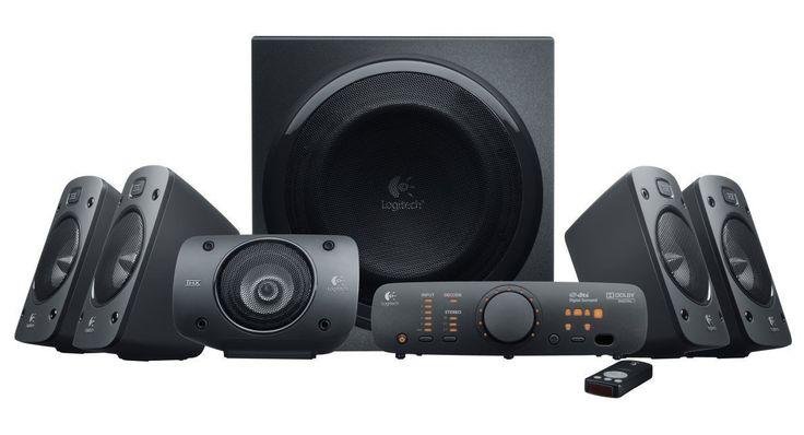 THX Sound zum Bestpreis! Bei amazon gibt es das Logitech Z906 3D-Stereo Lautsrechersystem für 189€ - der geizhals.at Vergleichspreis liegt bei 216,99€.   #Amazon #Elektronik #Heimkino #Lautsprecher #Logitech #Musik #THX