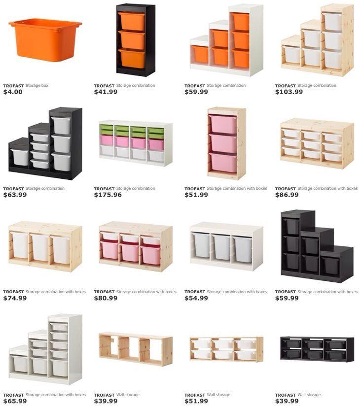 IKEA série de rangement TROFAST