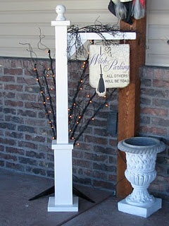 diy Porch sign hanger... Somebody make one of these with me!