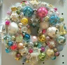 vintage DIY wreath