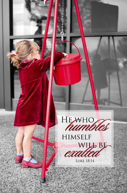 He who humbles himself will be exalted