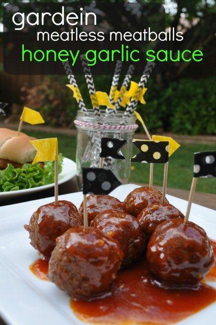 Gardein Meatless Meatballs-Honey Garlic Sauce