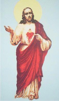 campo de luz e de amor: O meu coração ensanguentado que perdoa os vossos p...