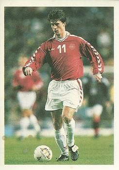 1998 Brooke Bond PG Tips International Soccer Stars #5a Brian Laudrup Front