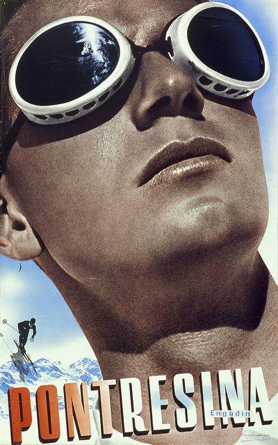 Herbert Matter poster from '100 Years of Swiss Graphic Design' by Eye magazine, via Flickr