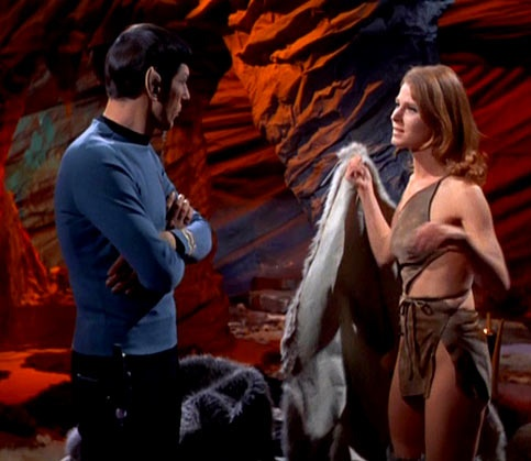 """Mariette Hartley is the Emmy Award-winning actress who portrayed Zarabeth in 1969 in the original Star Trek original series episode """"All Our Yesterdays."""" Mr. Atoz, the Librarian, directs our heroes to a time portal called the Atavachon, as an escape for the inhabitants of the planet Sarpeidon whose sun is about to go supernova. Kirk lands in a """"17th century England;"""" Spock and McCoy are trapped in the Sarpeidon Ice Age where Spock finds love with a beautiful, exiled woman."""