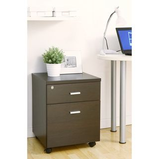 Furniture of America Studio 1-Drawer Rolling File Cabinet | Overstock.com Shopping - Great Deals on Furniture of America File Cabinets