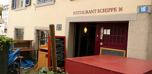 Cafes in Zurich – Restaurant Schipfe 16. Hg2Zurich.com.