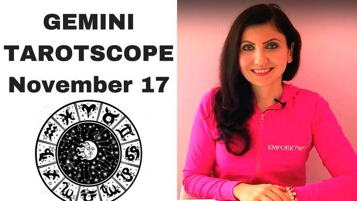 Gemini November 2017 Tarotscope