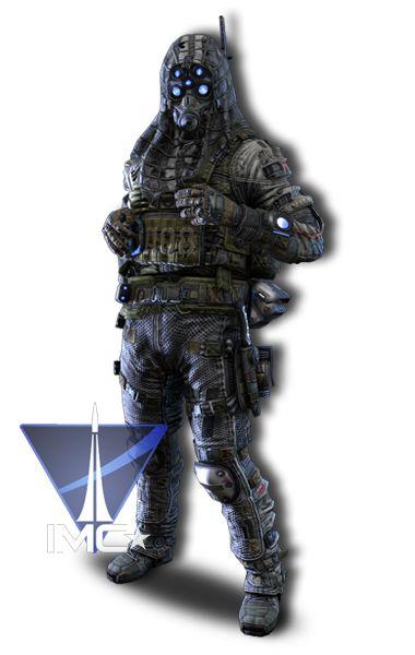 Titanfall IMC http://www.titanfall.com/au/pilots/assassin