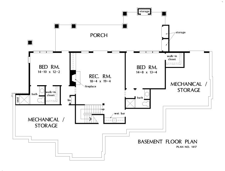 Check out the basement floor plan of The Trenton  house 1417 Best 25 Basement plans ideas on Pinterest office