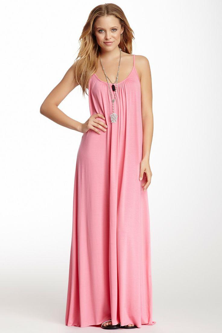 pink maxi dress pinterest