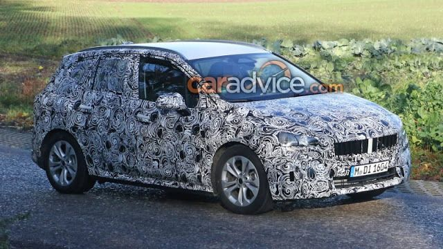 2021 Bmw 2 Series Active Tourer Interior Spied Bmw Bmw 2