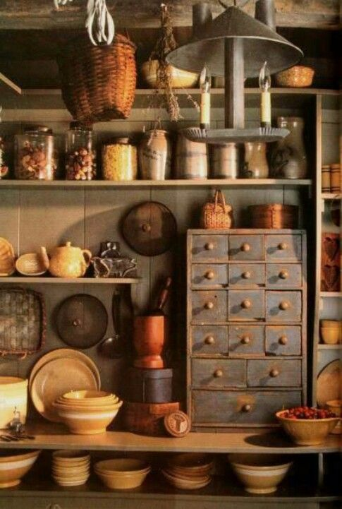 Wall Colour Inspiration: My Primitive Country Place