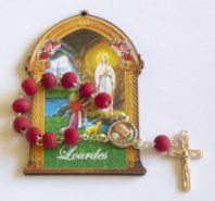 Handheld Rose Scented Rosary Beads.