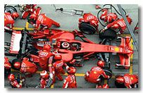 Ferrari F1 Team Photo