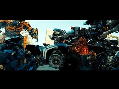 Transformers: Dark of the Moon sentinel prime kills ironhide (1080HD VO) - YouTube