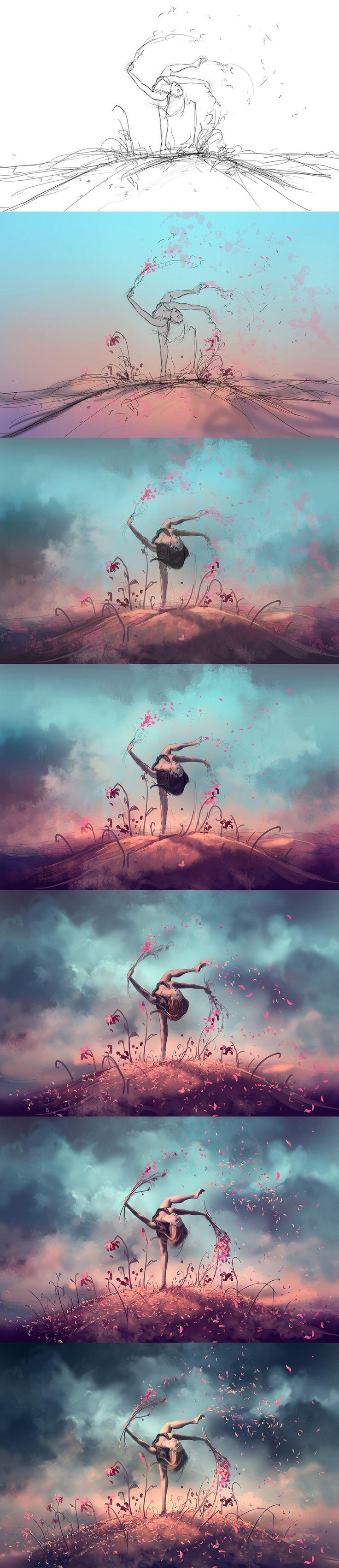 WIP of Dancing Zodiac VIRGO by AquaSixio.deviantart.com on @DeviantArt