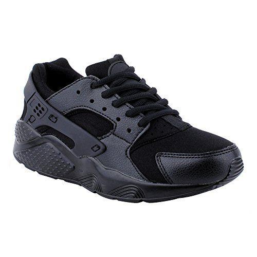 Herren Damen Sneaker Sportschuhe Lauf Freizeit Runners Fitness Low Schuhe Schwarz/Herren EU 42 - http://on-line-kaufen.de/fusskleidung/42-eu-herren-damen-sneaker-sportschuhe-lauf-low-8