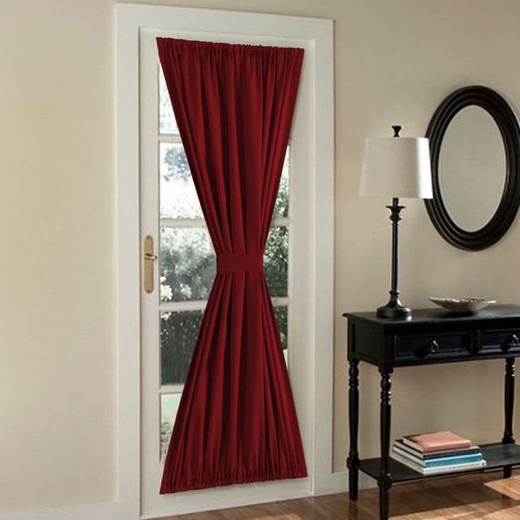 17 Best Ideas About French Door Curtains On Pinterest Curtains For French Doors Door Window
