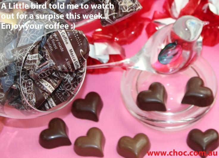 Chocolate hearts  www.choc.com.au