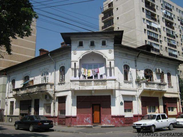 Casa de negustor in stil Neo-Romanesc, zona Pantelimon | Bucurestii Vechi si Noi