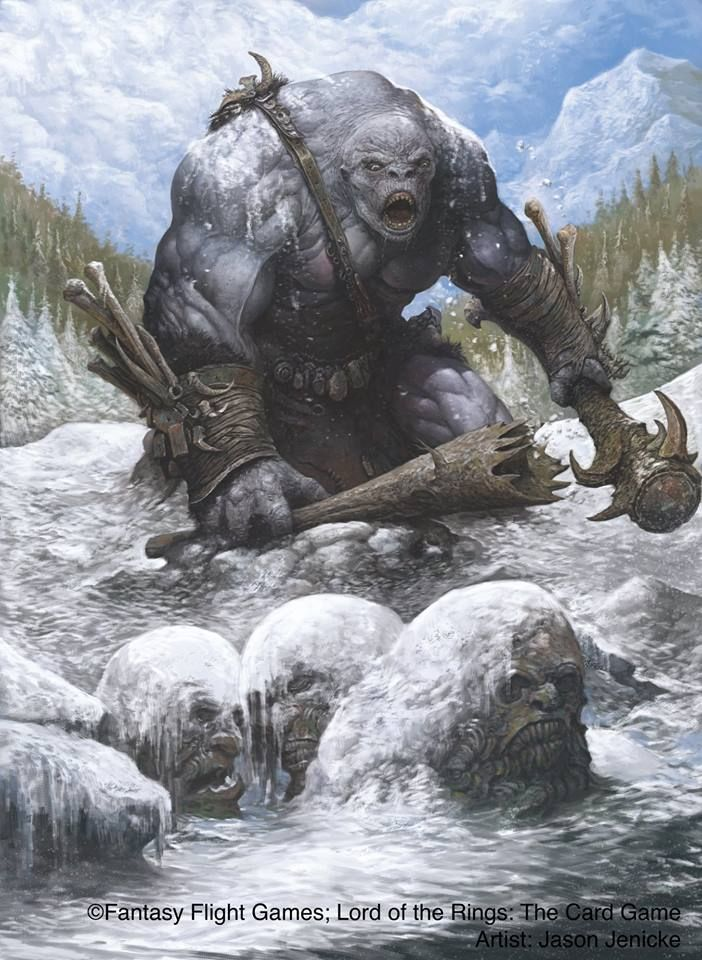 Ogre (Lord of the Rings) by Jason Jenicke | Fantasy monster, Fantasy  creatures, Fantasy characters