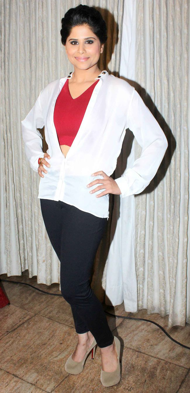 Sai Tamhankar at music launch of Marathi film 'Pyar Vali Love Story' #Style #Bollywood #Fashion #Beauty #Marathi