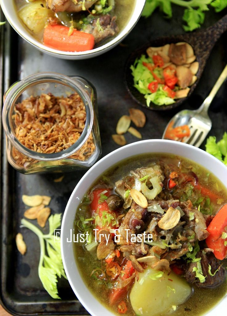 Just Try & Taste: Sup Buntut Super Nendang!